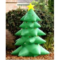 Buy cheap Inflatable Christmas tree with led light Christmas decoration from wholesalers