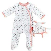 Buy cheap 100% Cotton Baby Romper Long Sleeve Non-additive from wholesalers