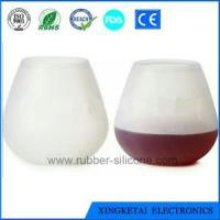 Buy cheap High Quality /Eco-friendly Wholesale Silicone Wine Glass With Custom Design from wholesalers