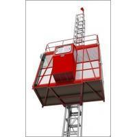 Buy cheap SC100 Single-cage Rack and Pinion Construction building lifts from wholesalers