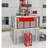 Buy cheap SC200/200Z Double Cage Construction Hoist with Inverter from wholesalers
