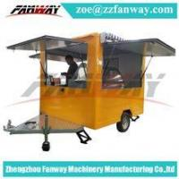 Buy cheap mobile breakfast food carts for sale,mobile food cart with wheels from wholesalers