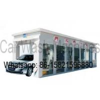 Buy cheap tunnel car wash machines 7 brushes Model No.: W900-1 from wholesalers