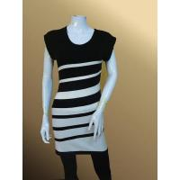 Wholesale lh33 Striped Slimfit Tunic Lady Long Pullover from china suppliers