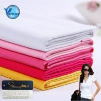 Buy cheap Knitted Lining Pocketing Soft Textile 100% Pima Cotton Single Jersey Fabric for T-shirt from wholesalers