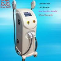 Wholesale 2 in 1 SHR Hair Removal + OPT IPL Skin Rejuvenation from china suppliers
