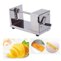 Buy cheap Good Manual Stainless steel Potato Tornado Slicer Cutter Spiral cutting machine from wholesalers