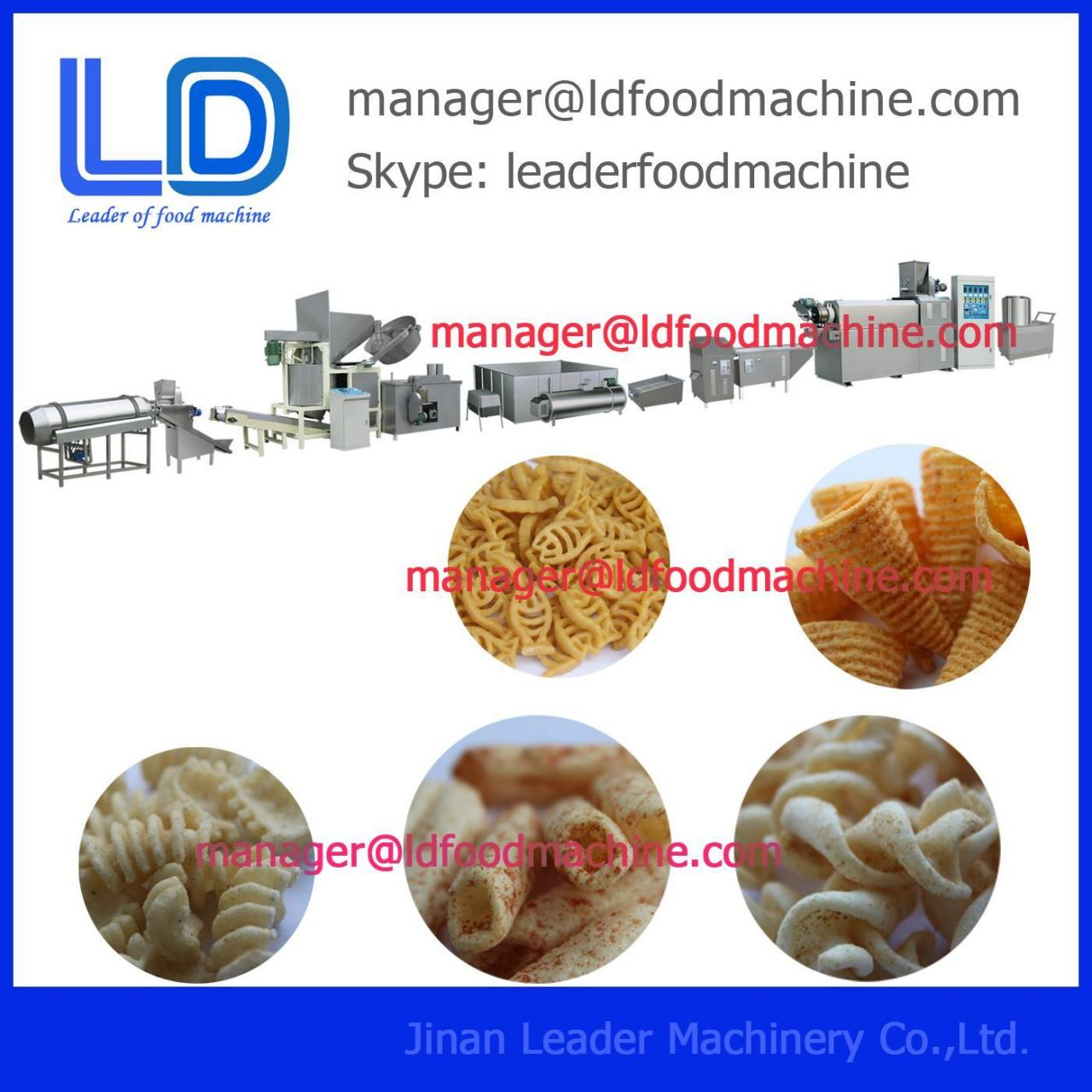 Vegetable Puffed Food Processing Machinery Manufactures