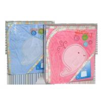Buy cheap 350 cut pile terry cloth material embroidered baby bath towel from wholesalers