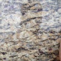 Buy cheap Polished Santa Cecilia Gold Granite Slabs For Kitchen Counter Top granite tiles from wholesalers