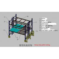 Wholesale Multi-level industrial warehouse storage used heavy duty pallet rack from china suppliers