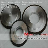 Buy cheap 14A1 Vitrified Bond Diamond Grinding Wheels for Tungsten Carbide Mary@moresuperhard.com from wholesalers