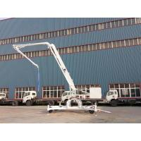 Buy cheap HGD15 wheel type hydraulic mobile concrete placing boom from wholesalers