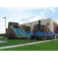 IS-117 Zip Line inflatable Obstacle course for event party Manufactures
