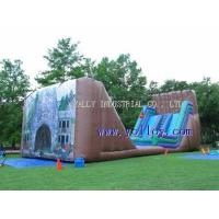 IS-118 large Dry Gulch Zipline--mobile inflatable zip line Manufactures