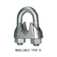 SHACKLE Galv. Malleable Wire Rope Clip Type B