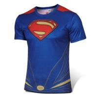 Buy cheap Superman cycling T-shirt bicycle jersey from wholesalers