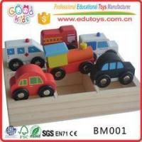 Buy cheap wholesale customize educational baby wooden model toys car from wholesalers