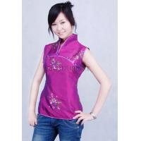 Buy cheap Fuchsia Embroidered Paillette Blouse from wholesalers