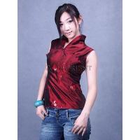 Buy cheap Embroidered Paillette Blouse---Dark Red from wholesalers