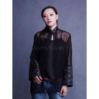 Buy cheap Sexy Black Gorgette Blouse product