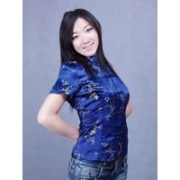 Wholesale Classy Plum Blossom Blouse from china suppliers