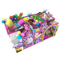 Buy cheap Child indoor playground preschoool playground equipment customization factory directly for sale from wholesalers