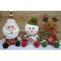 Wholesale Cartoon version of claus series of plush toys from china suppliers