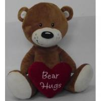 Wholesale Lovely heart teddy bear doll bear doll from china suppliers