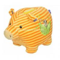 Buy cheap Lovely yellow stripe classic little stupid pig from wholesalers