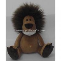 Long hair lion plush toy doll Manufactures