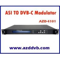 Buy cheap ASI to DVB-C RF MODULATOR - MUDULATOR SERIES - AZD DVB CO.,LTD from wholesalers