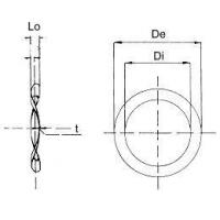 Buy cheap Compression Springs Imperial Lock Washers in Beryllium Copper or Austenitic Stainless Steel from wholesalers