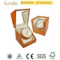 Buy cheap Nice orange custom printing wooden watch winder boxes automatic from wholesalers