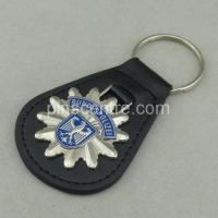 Wholesale 3D Customized Leather Keychains from china suppliers