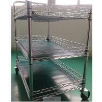 Buy cheap ESD Wire Shelf Trolley from wholesalers