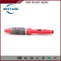 Buy cheap new ionic hair brush styler for styling quickly and easily from wholesalers