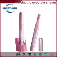 electric eyebrow shaver to remove unwanted eyebrow regrowth on eyes