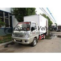 Buy cheap Foton 2.6m small refrigerated truck for sale Foton 2.6m small refrigerated truck for sale from wholesalers