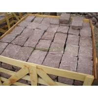 Buy cheap Paving Stone and Kerbstone Dayang Red Cube Stone from wholesalers
