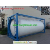 Buy cheap ISO 20FT bulk cement tank container from wholesalers