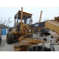 Buy cheap CONTACT Used 140H Motor Grader Caterpillar from wholesalers