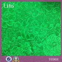 Buy cheap New fashion flower shape nylon spandex lace fabric for lady's dress from wholesalers
