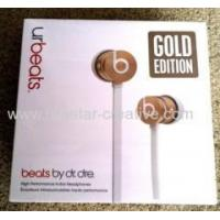 Buy cheap Limited Edition Gold Beats by Dr. Dre urBeats Earbud Headphones Gold Earbuds from wholesalers