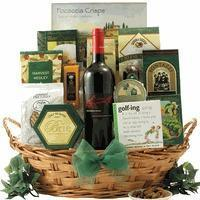 Buy cheap Christmas Decor Greg Norman Estates Shiraz: Golf & Wine Gift Basket from wholesalers