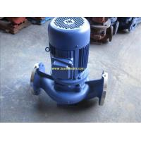 Buy cheap ISG vertical pipeline centrifugal water pump from wholesalers
