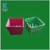 Buy cheap Biodegradable Paper Pulp Fruit Packaging Trays from wholesalers