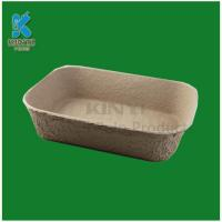 Buy cheap Eco-friendly pulp molding plant tray from wholesalers