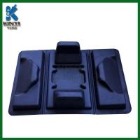 Buy cheap Biodegradable black tray,thermoform molded pulp tray from wholesalers
