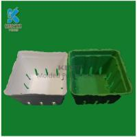 Buy cheap Biodegradable sugarcane pulp Grape packing basket from wholesalers